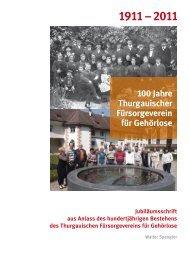 1911 – 2011 - sonos - Schweizerischer Verband für das ...