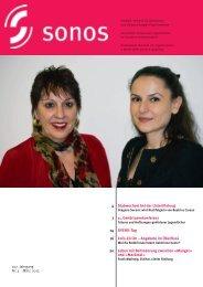 März 13 - sonos - Schweizerischer Verband für das Gehörlosenwesen