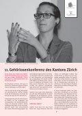 März 13 - sonos - Schweizerischer Verband für das Gehörlosenwesen - Page 7