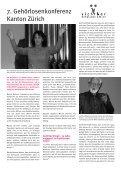 März 09 - sonos - Schweizerischer Verband für das Gehörlosenwesen - Page 4