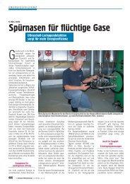 Spürnasen für flüchtige Gase - SONOTEC Ultraschallsensorik Halle ...