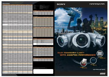 Brochure - Sony Asia Pacific
