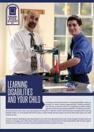 Learning Disabilities and Your Child