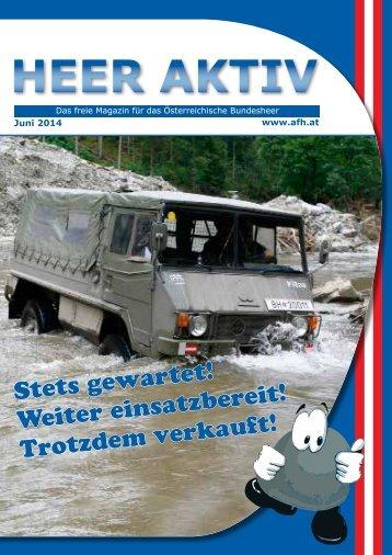 Heer Aktiv  Ausgabe 06-2014