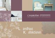 Landhaus Kollektionen - Charme de Provence