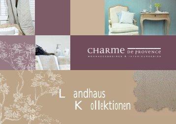 4d622477d4da2e Landhaus Kollektionen - Charme de Provence