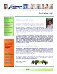 September 2007 Newsletter - Sopc.us