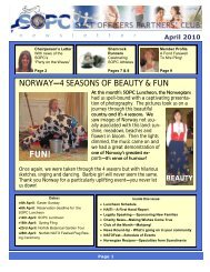 April 2010 Newsletter - Sopc.us