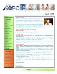 SOPC Newsletter April 2008 3 - Sopc.us