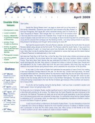 April 2009 Newsletter - Sopc.us