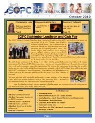 October 2010 Newsletter - Sopc.us