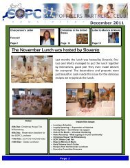December 2011 Newsletter - Sopc.us