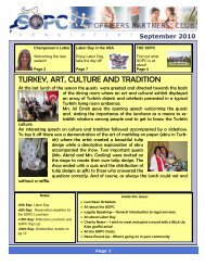 September 2010 Newsletter - Sopc.us