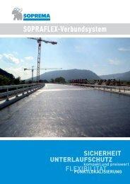 SOPRAFLEX-Verbundsystem - SOPREMA-KLEWA GmbH