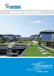 imagebroschuere de deutschland.indd - SOPREMA-KLEWA GmbH