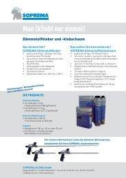 Flyer - SOPREMA-KLEWA GmbH
