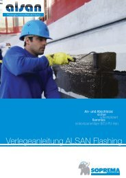 Verlegeanleitung ALSAN Flashing - heinze.de