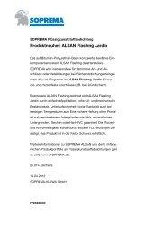 Produktneuheit ALSAN Flashing Jardin - SOPREMA-KLEWA GmbH