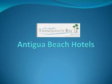 Antigua Beach Hotels