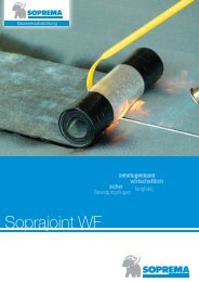Soprajoint WF - SOPREMA-KLEWA GmbH