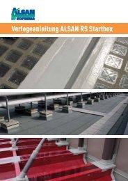 Verlegeanleitung ALSAN RS Startbox - SOPREMA-KLEWA GmbH