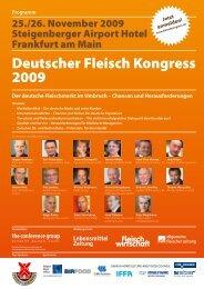Der deutsche Fleischmarkt im Umbruch - The Conference Group ...