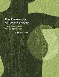 The Economics of Breast Cancer: - Soroptimist