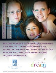 Women and Economic Empowerment White Paper - Soroptimist