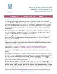 Summary of Board Action March 2013 - Soroptimist