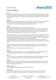 Technický list ke stažení - SORTIM
