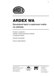 ARDEX WA - SORTIM