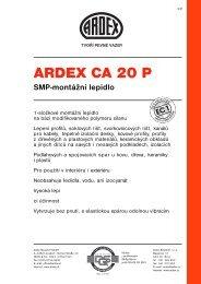 ARDEX CA 20 P - SORTIM