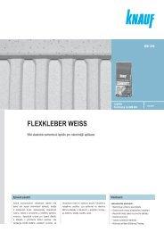 FLEXKLEBER WEISS - SORTIM