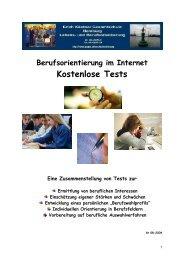 Kostenlose Tests