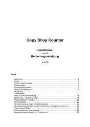 Copy Shop Counter Installations