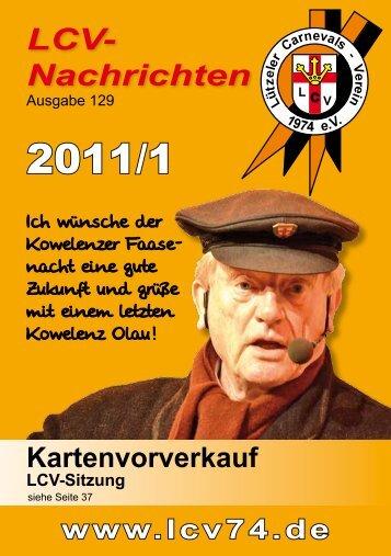 LCV-Nachrichten 2011/1 Ausgabe 129