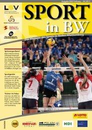 Sport-in-BW April 2011 - Badischer Sportbund Freiburg e.V.