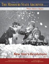 Winter 2013 - Secretary of State