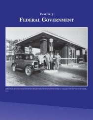 Chapter 3 - Federal Government - Secretary of State