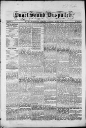 ·weekly Puget Sound Dispatch. - Washington Secretary of State