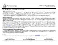 Law Enforcement Records Retention Schedule - Washington ...