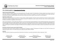 Department of Ecology Records Retention Schedule - Washington ...