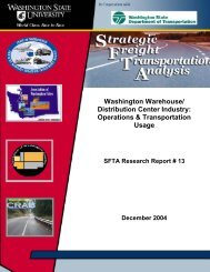 Distribution Center Industry - Washington Secretary of State