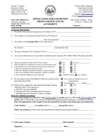 Senior Freeze Exemption Certificate of Error Application