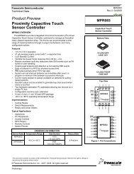 MPR083, Proximity Capacitive Touch Sensor ... - SOS electronic