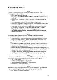 V. WYRÓŻNIENIA I NAGRODY § 100 Uczniów szkoły podstawowej ...