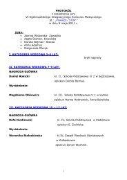 protokół - Specjalny Ośrodek Szkolno-Wychowawczy