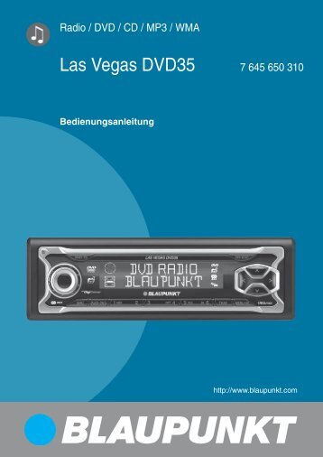 Las Vegas DVD35 - Blaupunkt