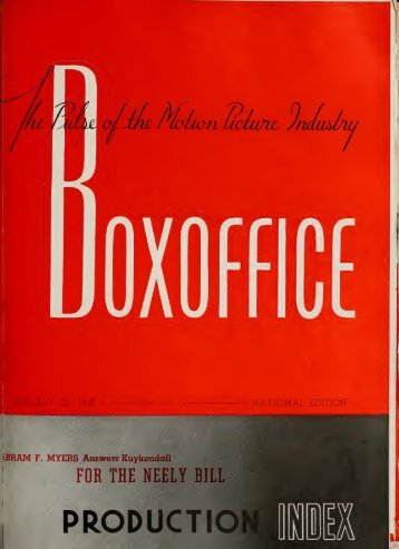 Boxoffice - Jan. 20, 1940