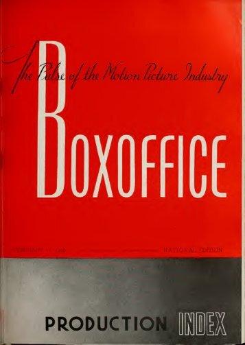 Boxoffice - Feb. 17, 2014